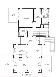 floor palns modern style house plan 2 beds 2 50 baths 1953 sq ft plan 890 6