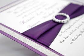 do it yourself wedding invitation kits purple wedding invitations kits 1493