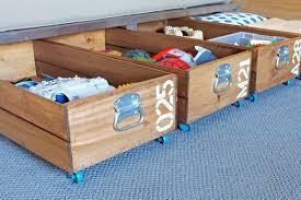 under bed storage diy creative under bed storage ideas the idea room