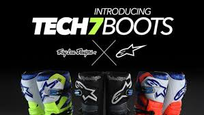 alpinestars tech 7 motocross boots troy lee designs partners with alpinestars transworld motocross