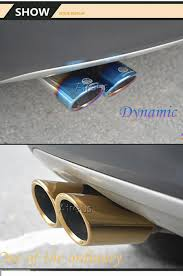 car exhaust muffler pipe tip for volkswagen vw golf 6 golf 7 mk6