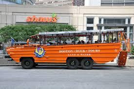 amphibious vehicle duck boston duck tours boston ruebarue