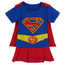 Supergirl Infant Halloween Costume Supergirl Baby Ebay