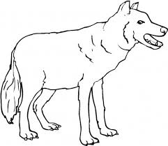 scary wolf coloring page download u0026 print online coloring pages