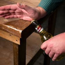 5 Handy Uses For Beer by 10 Different Ways To Open A Beer Bottle Without A Bottle Opener