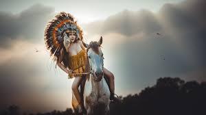 american wallpaper native american girl horse riding wallpaper 4k hd download