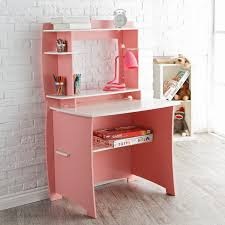 Pink Computer Desk Legare 36 In Desk With Hutch Pink And White Hayneedle