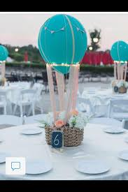 hot air balloon centerpiece image result for hot air balloon with paper lantern and dowels