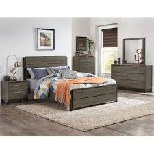 Gray  Black Contemporary  Piece King Bedroom Set Oxon RC - Bedroom sets at rc willey
