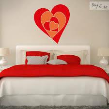 descubre los nuevos disenos en nuestra tienda online www wide chevrons mount wall decal on wall behind bed