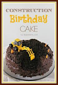 construction birthday cake construction birthday cake bakerette