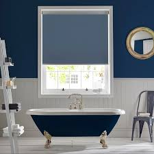 bathroom blind ideas palette denim bathroom roller blind trends 2017 pinterest