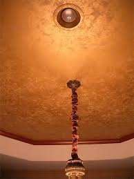 Sand Textured Ceiling Paint by Gold Metallic Sand Texture Over Metallic Base Color Dark Red And