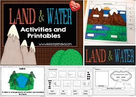 Landforms Worksheets Landforms And Bodies Of Water Freebie The Lesson Plan Diva