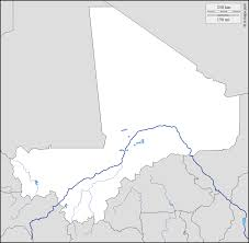 Mali Map Africa by Mali Free Map Free Blank Map Free Outline Map Free Base Map