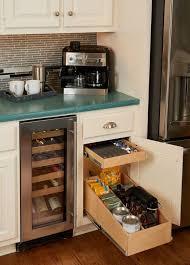 Kitchen Cabinet Slide Out Shelves Amazing Kitchen Pull Out Shelves Custom Shelves Shelfgenie Sliding