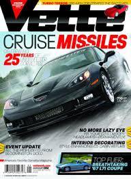 corvette magazines magazine media kit info