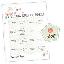 wedding words for bingo wedding bingo wedding speech bingo diy wedding project