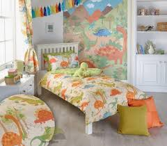 Dinosaur Single Duvet Set Boys Dinosaur Single Quilt Duvet Cover U0026 Pillowcase Bed Set