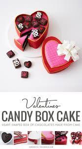 chocolate heart candy s heart candy box cake