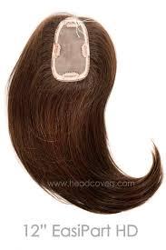 thin hair pull through wigltes easipart 12 inch human hair topper by jon renau wigs easihair top