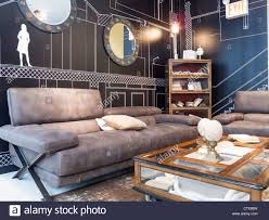 roche bobois furniture store interior nyc stock photo royalty