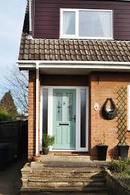 Green Upvc Front Doors by Full House Of Rehau Upvc Windows With Chartwell Green Composite
