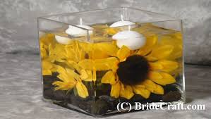 silk sunflowers silk sunflower centerpiece