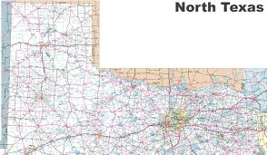 Map Of Washington State Cities by Map Of North Texas