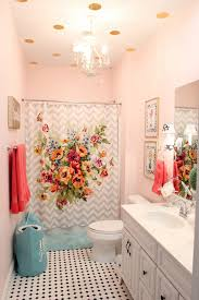 Pink Bathroom Ideas Girls U0027 Bathroom Mini Makeover In One Afternoon Less Than