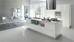 modern kitchens white open modern kitchens with few pops of color