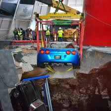 where is the national corvette museum 3rd corvette plucked from ky museum s sinkhole san antonio