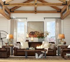 Best Pottery Barn Images On Pinterest Living Room Ideas - Pottery barn family room