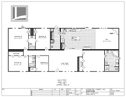Mobile Home Floor Plans Double Wide by Lexington Homes Double Wide Floor Plans
