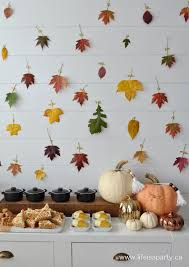 easy fall thanksgiving dessert table buffet