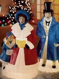 lighted plastic christmas yard decorations splendid ideas outdoor plastic christmas decorations antique blown