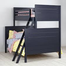 Uptown TwinOverFull Bunk Grey The Land Of Nod - Land of nod bunk beds