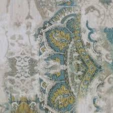 Kravet Upholstery Fabrics Kravet Blue Green Beige Damask Matlesse Drapery Upholstery Fabric