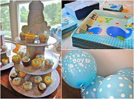 baby shower decorations for boy mesmerizing boys baby shower with baby shower decoration ideas