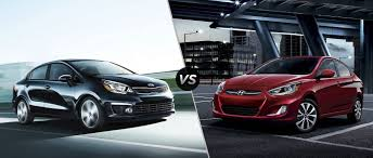 hyundai accent 201 2016 kia vs 2016 hyundai accent