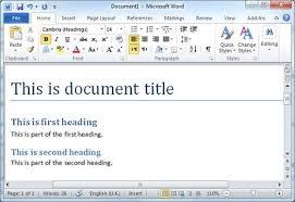 membuat daftar isi table of contents di word 2007 cara membuat daftar isi table of contents di word 2007 2010