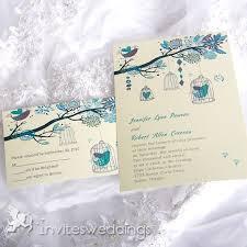 bird wedding invitations fascinating bird and tree wedding invitations iwi026 wedding