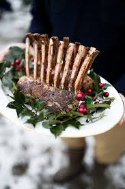 herb crusted rack of lamb u2014 cooking with cocktail rings