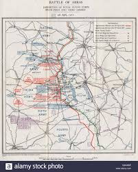 Ww1 Map Ww1 Western Front Battle Of Arras Royal Flying Corps April 1917