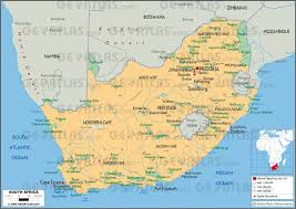 South Africa World Map Geoatlas Countries South Africa Map City Illustrator Fully