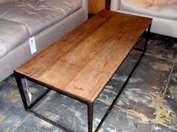 wood top coffee table metal legs metal wood coffee table ggregorio