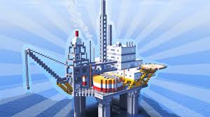 how to build an oil platform in minecraft creative building oil