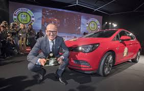 vauxhall colorado vauxhall astra wins european car of the year 2016