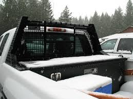 roof rack emergency light bar truck rack back rack headache rack ladder racks at highway