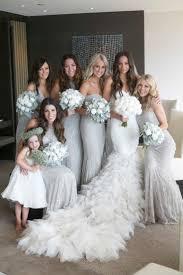 bridesmaid dresses silver best 25 silver bridesmaid dresses ideas on